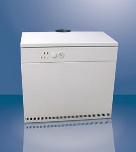 Одноконтурный напольный газовый котел для отопления дома THERM 80 Е от 400 кв.м
