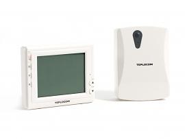 Комнатный беспроводной электронный термостат TEPLOCOM TS-Prog-2AA/3A-RF